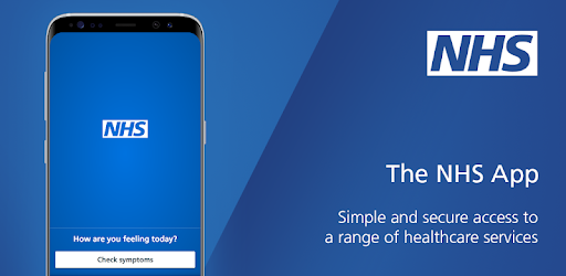 Image of the NHS App
